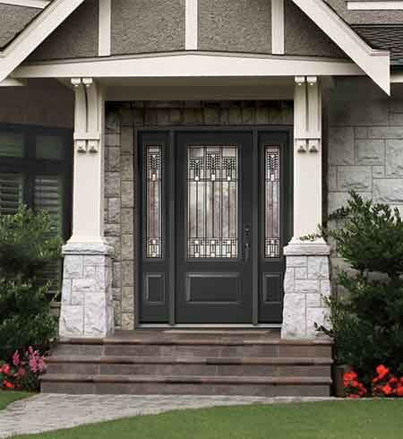 TRU Elegance® Decorative Glass Door